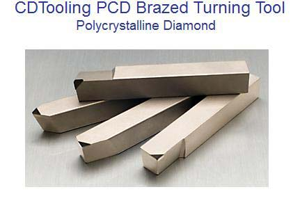 PCD Brazed Turning Tools