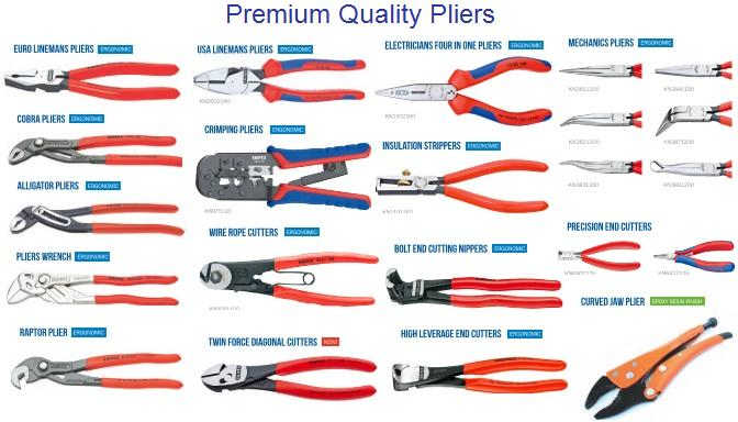 Pliers Standard and Specialty