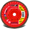 6 inch × 5/8 inch-11 - 40 Grit - C3 Ceramic Compact Trimmable Flap Disc with Hub ID # MG9030222