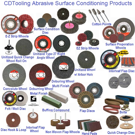 Abrasive Surface Conditioning Products