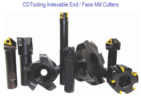 Indexable End / Face Mill Cutters