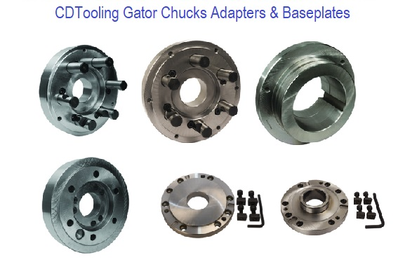 Lathe Chucks Adapters and Baseplates