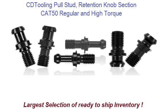 CAT 50 Pull Stud, Retention Knob Section
