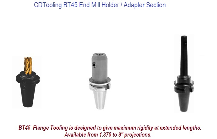 BT45 End Mill Holders / Adapters
