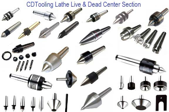 Lathe Center, Bull, Dead, Multi Purpose Section