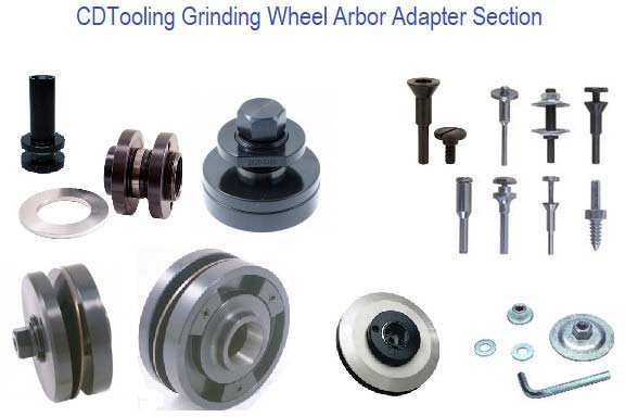 Grinding Wheel Arbors Adapter Section