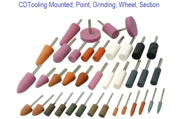 Mounted, Point, Grinding, Wheel, Section