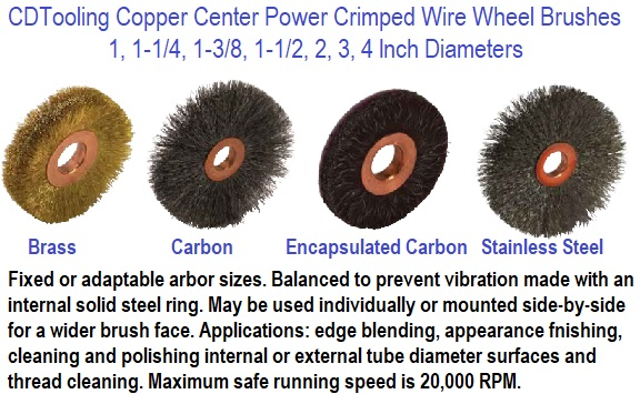 Crimped Wire Wheels Power Brush