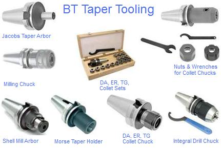 BT Taper Tooling
