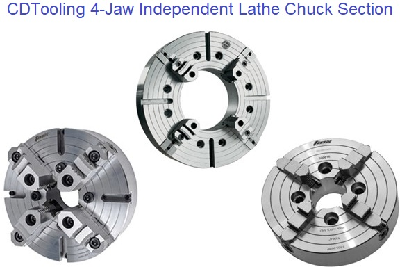 4 Jaw Independent Lathe Chucks
