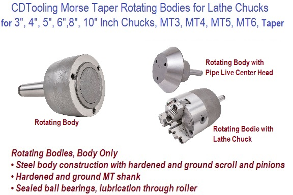 Rotating Bodies Morse Taper for Lathe Chucks