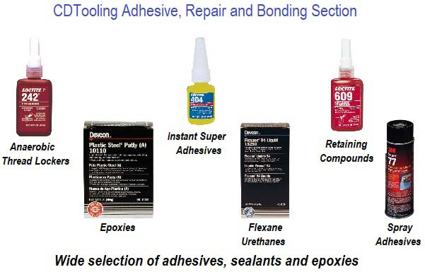 Adhesives, Repair, Bonding