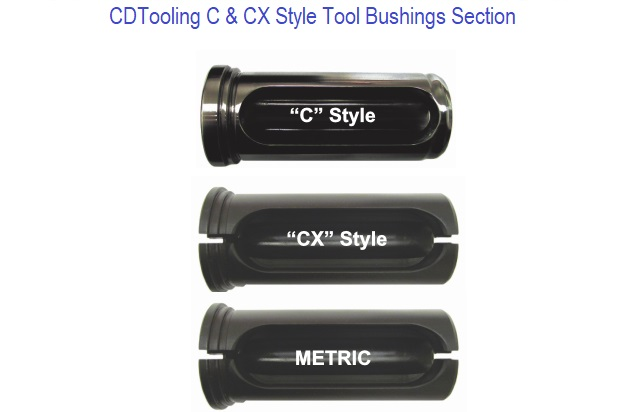C and CX Style Bushings