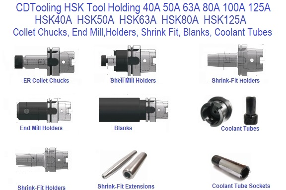 HSK Tool Holders and Accessories