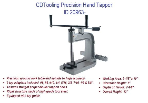 Precision Hand Tapper ID 20963- (COPY)