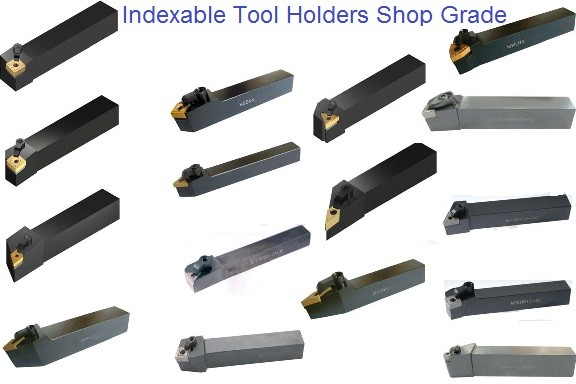 Turning Tool Holders Indexable Carbide Inserts, Clamps, Screws Shims