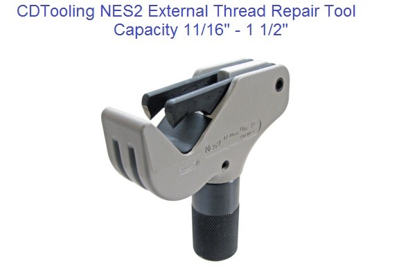NES2 External Thread Repair Tool 11/16 to 1-1/2 Inch, M17 to M38 Metric ID 2172-