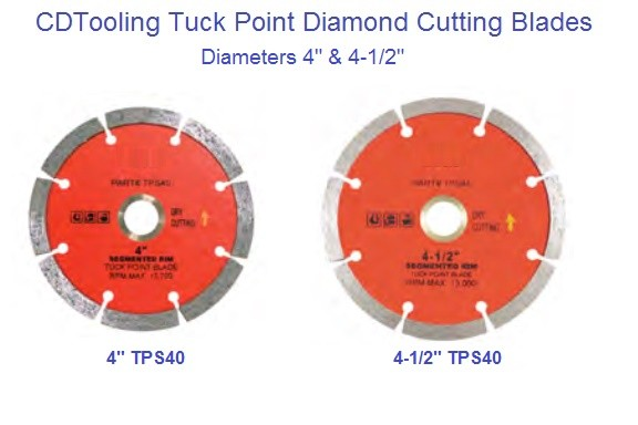 Diamond Wheels Tuck Point Dry Cutting 4