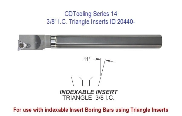 Triangle Inserts, Series 14, 3/8