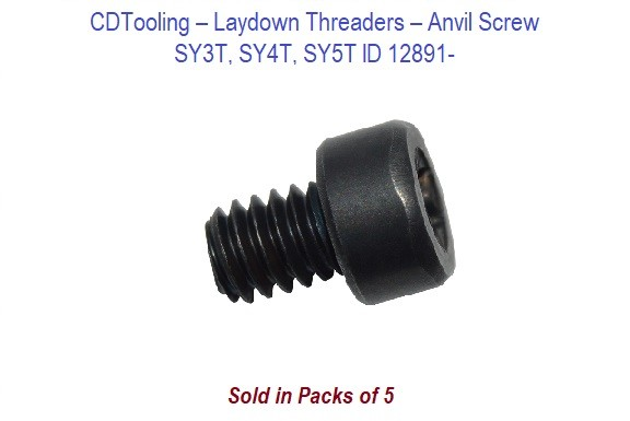 Laydown Threaders - Anvil Screws SY3T, SY4T, SY5T - 5 Pack ID 12891-
