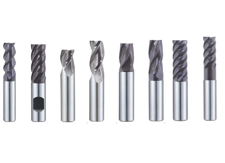 End Mill Carbide 3, 4, 5, 6 Flute for Titanium, Inconel, Stainless, Steel up to HRc 45 Jet Power