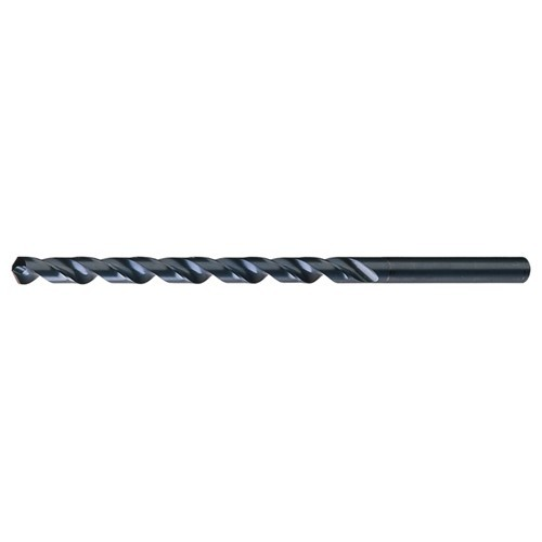 19/32 RHS / RHC HSS 118 Degree Notched Point Extra Length Drill - Steam Oxide ID # CL70C20466