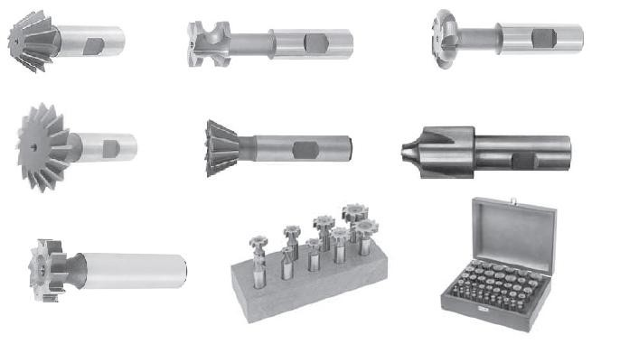 Milling Cutters with Shank High Speed Steel and Cobalt